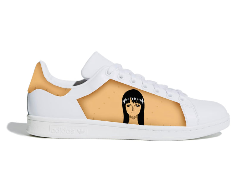 custom air force 1 Air Force one custom  Custom nike  Chaussures personnalisée Customiser chaussures  Air Force one comme des garçons  Customiser basket  Basket personnalisée  Personnaliser chaussures Adidas stan smith nico robin wanted one piece