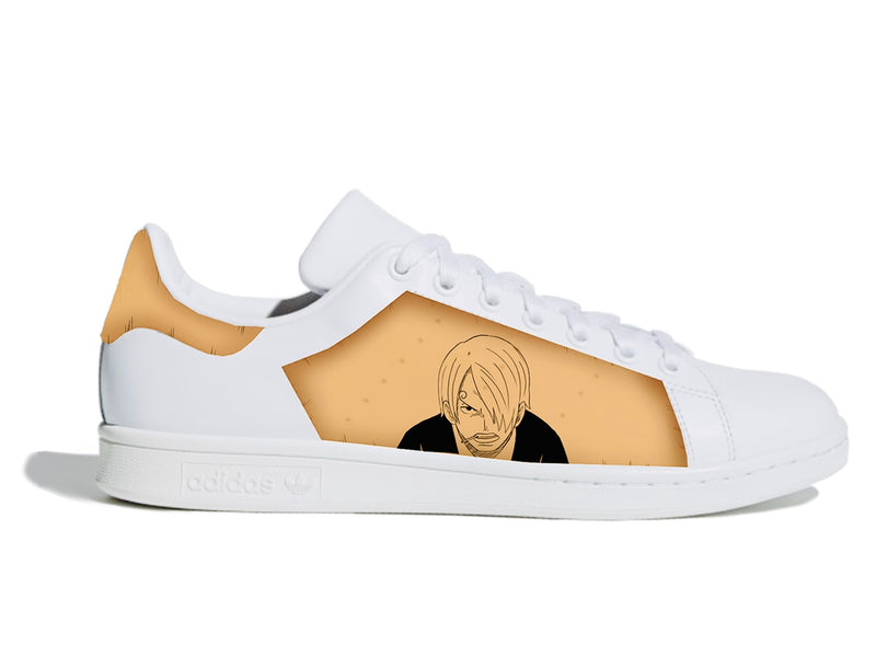 custom air force 1 Air Force one custom  Custom nike  Chaussures personnalisée Customiser chaussures  Air Force one comme des garçons  Customiser basket  Basket personnalisée  Personnaliser chaussures Adidas stan smith vinsmoke sanji wanted one piece