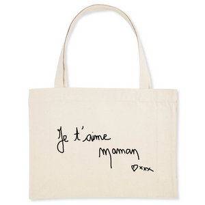 Sac shopping coton Bio Ecriture amour