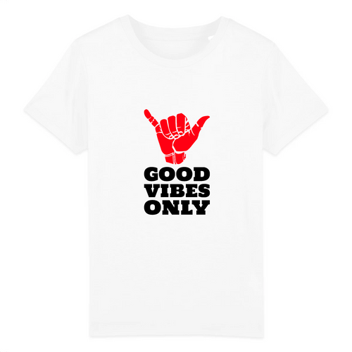 T-shirts enfant Good vibes