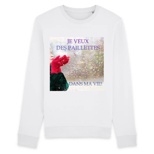 Sweats Coton Unisexe Paillettes