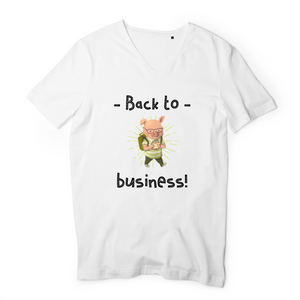 T-Shirts Col V Homme Business