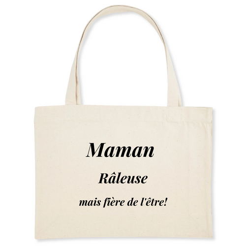 Sac shopping coton Bio MAMAN