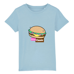 T-shirts enfant Burger