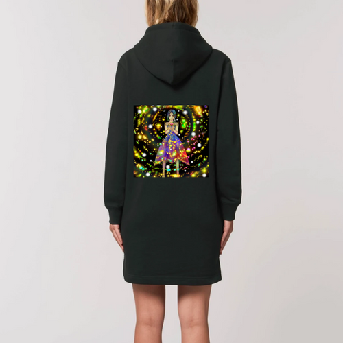 Robe sweat capuche Fée