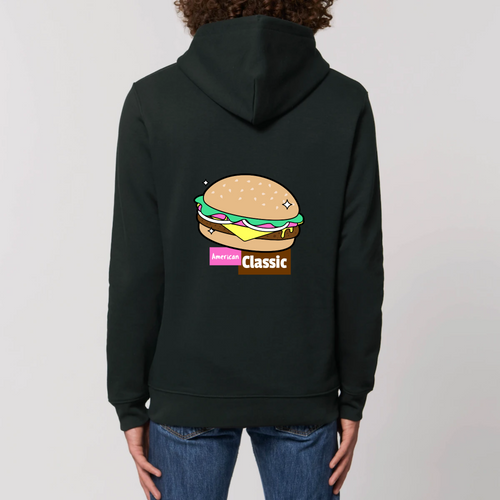 Sweat à Capuche Burger