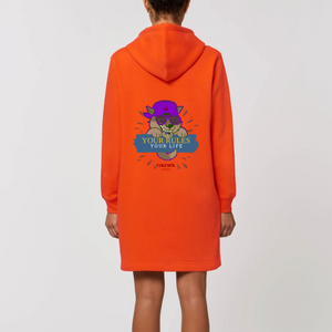 Robe sweat capuche Rules