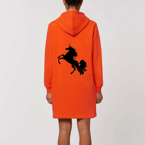 Robe sweat capuche Licorne