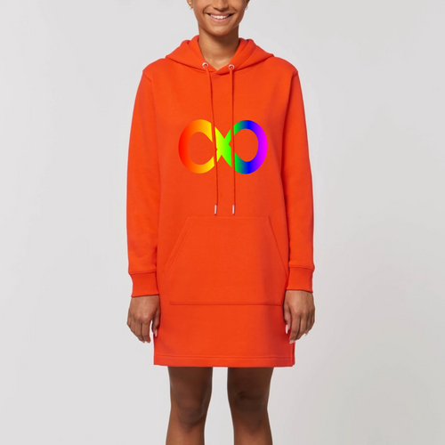 Robe sweat capuche Symbole