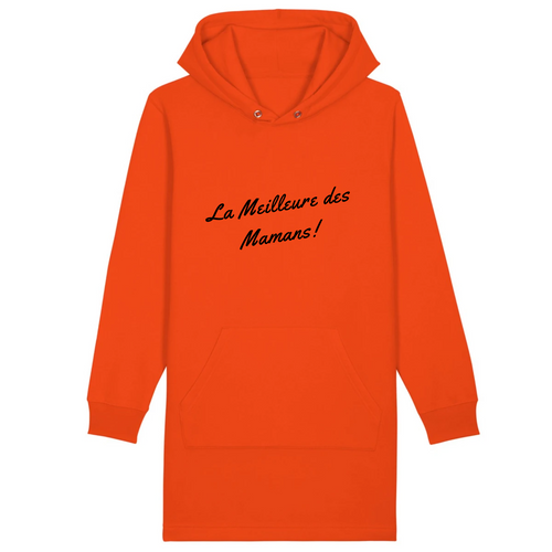 Robe sweat capuche MAMAN