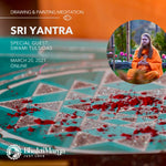Sri Yantra Painting Meditation Course, Live from Florida!