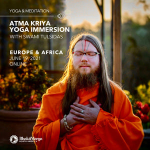 Atma Kriya Yoga Immersion -  EUROPE & AFRICA (JUNE 19th)