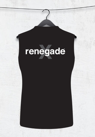 CUSTOM MUSCLE TANK  - BLACK