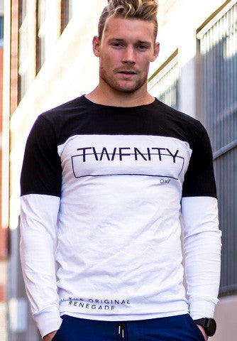 Horizon - Fitted Long Sleeve Tee