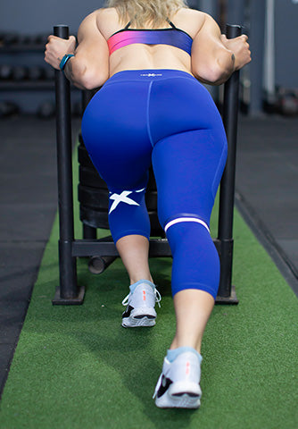 DAYTONA 7/8 LEGGING - BLUE