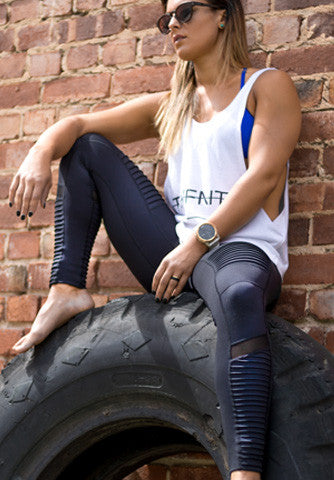 Moto Full Length Leggings