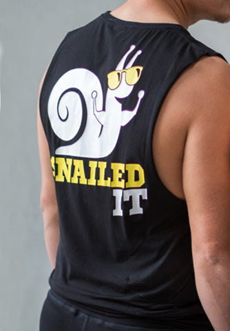 Snailed It - MUSCLE TANK