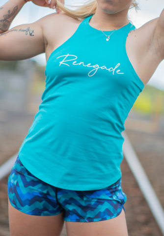 TRACK TANK - Teal