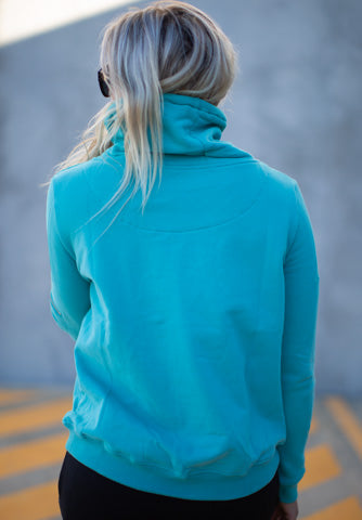 TOKYO PULLOVER - TEAL