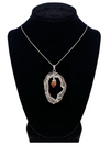 "Citrine in Natural Agate ""All 7 Chakras Balancing"" Necklace"