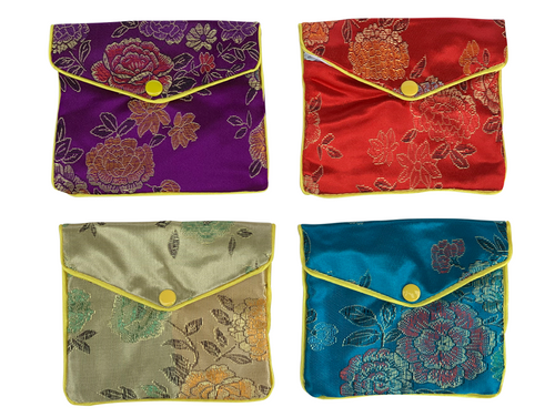 Embroidered Yoni Egg Envelop Bag