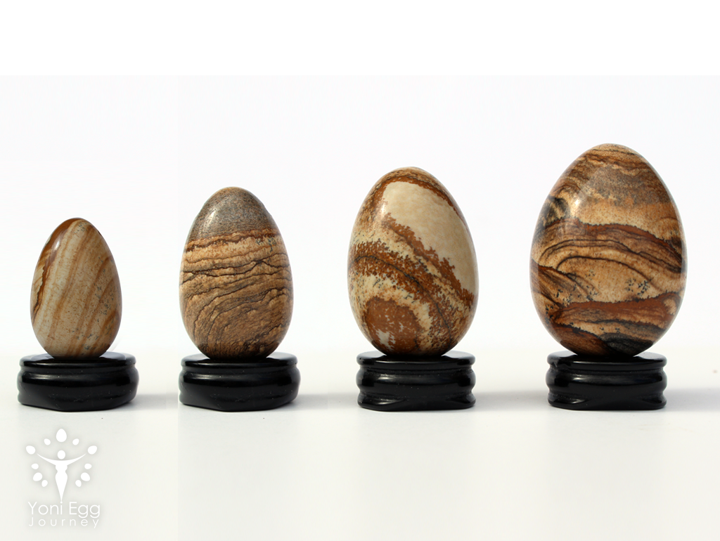 "Picture Jasper Yoni Egg ""Revelation & Ascension"""
