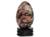 "Rhodonite Yoni Egg ""Centering & Love Energy"""