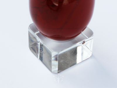 Square Dimple Glass Stand