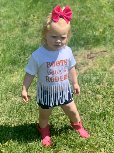 Boots, Bows & Rodeos Kids Shirt