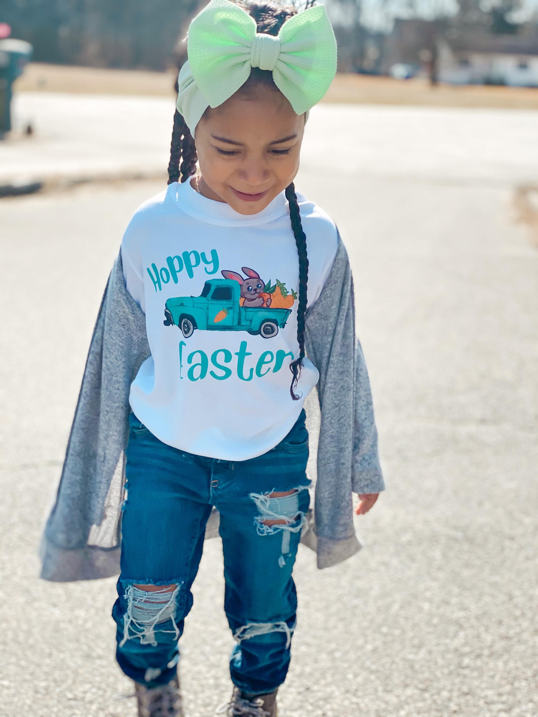 Hoppy Easter (Truck) Sublimation Shirt