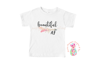 Beautiful AF Sublimation Shirt