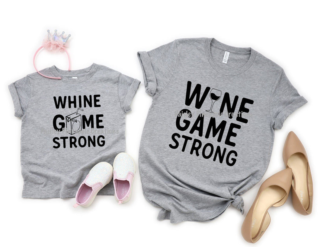 Wine Game/Whine Game Mommy & Me Set