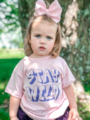 Stay Wild Kids Shirt