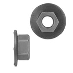 Hex Nut Loose Washer Metric | Black | Screw Size: 6.-1.00mm | Head Size: 10mm | OD Washer: 16mm | OEM # GM: 11505329, 11503752 * VW: N90100001