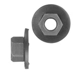 Hex Nut Loose Washer Metric | Black | Screw Size: 8-1.25mm | Head Size: 13mm | OD Washer: 24mm | OEM # Ford: N621940-S424 * GM: 11503695, 11506117, 11516780, 11500401