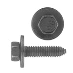 Indented Hex Head Loose Washer Metric Type CA Body Bolt | Black | Screw Size: 10-1.50 x 40mm | Head Size: 15mm | OD Washer: 28mm | OEM # GM: 11501193