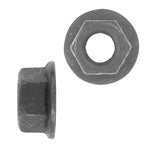 Hex Nut Flange Type Metric | Black | Screw Size: 10-1.50mm | Head Size: 15mm | OD Washer: 21mm | OEM # GM: 11501850