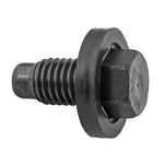 Thread: M12-1.75 | Length: Pilot Point Molded Gasket Drain Plug 21mm Long (Ford) | Hex: 15mm (5pc)
