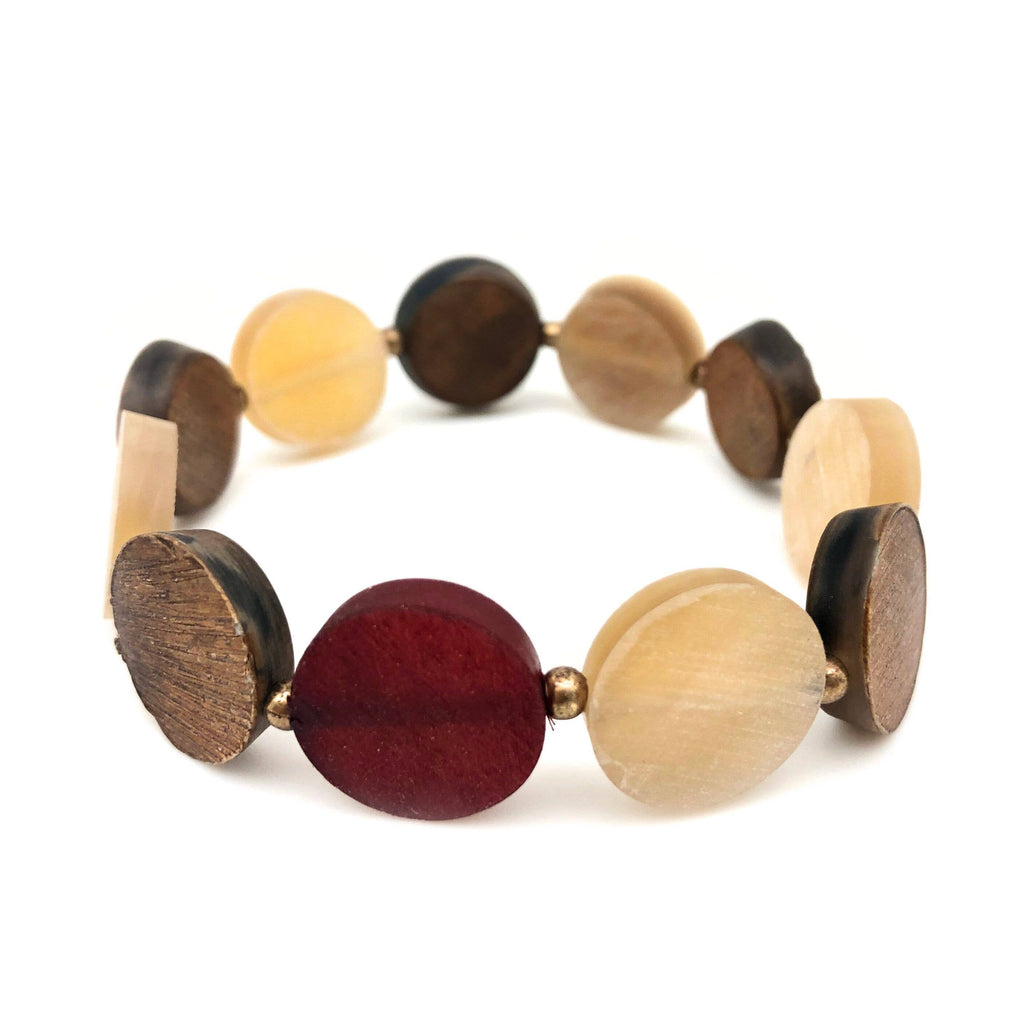 Omala Discs & Beads Bracelet (Sustainable)