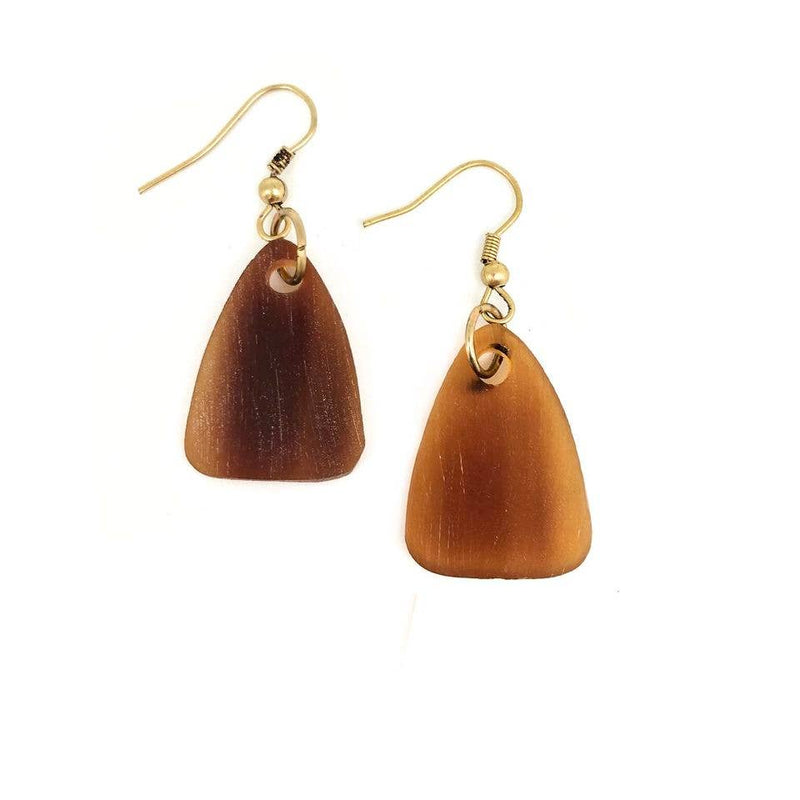 Omala Triangle Earrings (Sustainable)