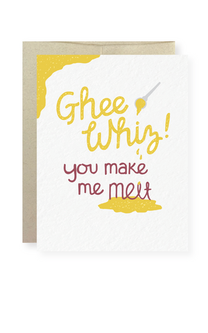 Ghee Whiz Greeting Card - Masala My Life