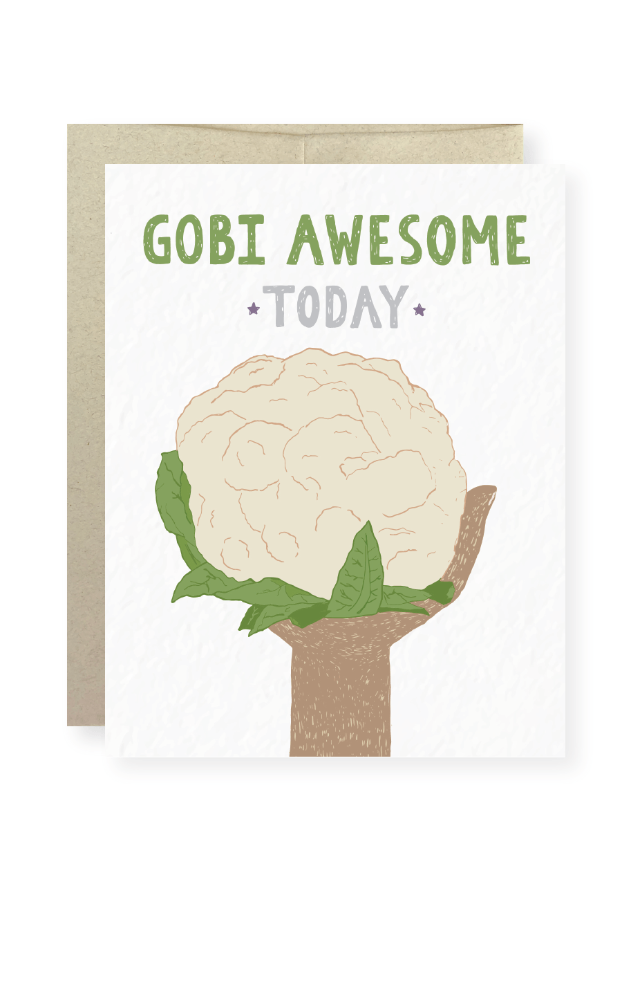 Gobi Awesome Today Greeting Card - Masala My Life