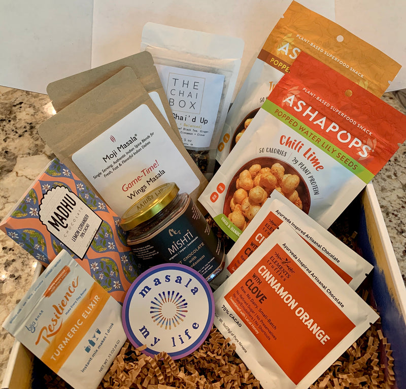 Indian-Inspired Flavor Adventure Box