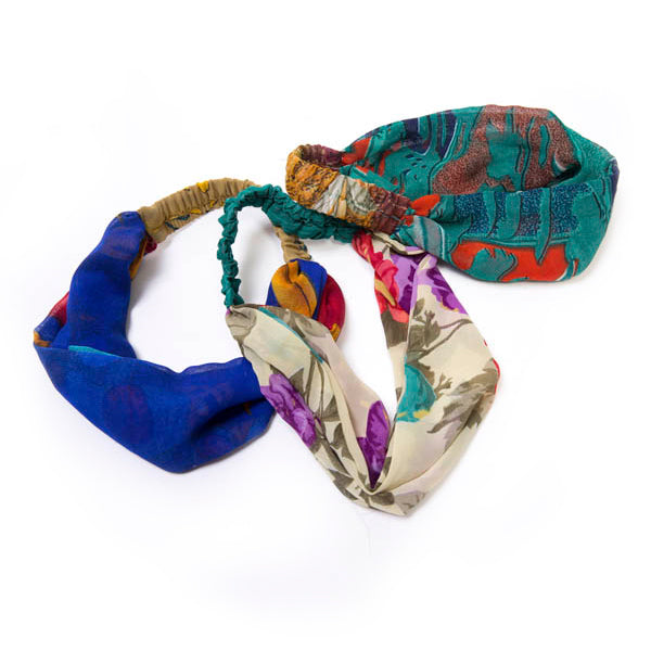Colorful Sari Headband - Masala My Life