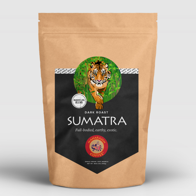 Maharajah Coffee Sumatra Dark Roast
