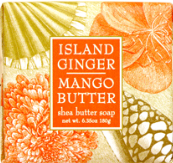 Island Ginger & Mango Butter Soap