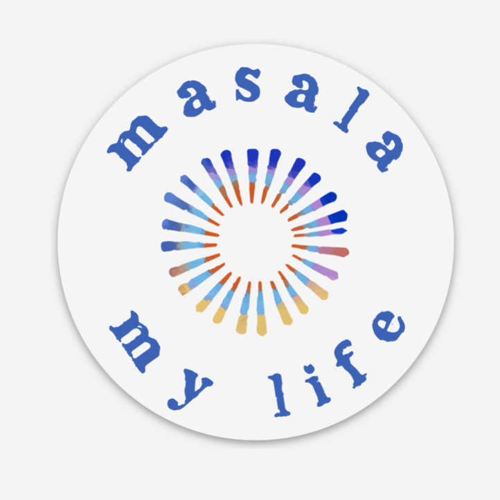 Masala My Life Sticker