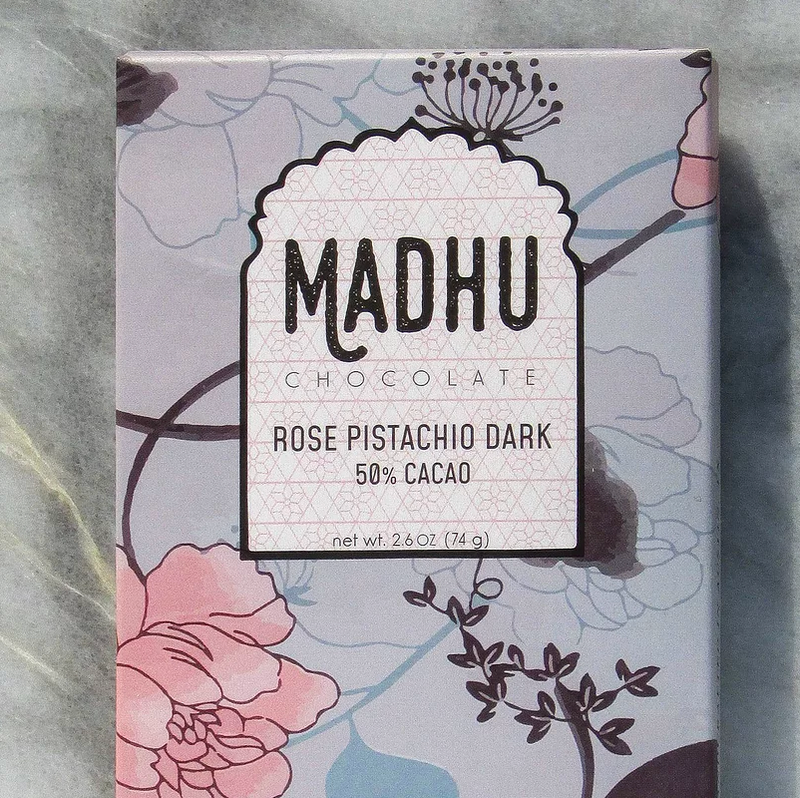 Rose Pistachio Chocolate Bar - Masala My Life
