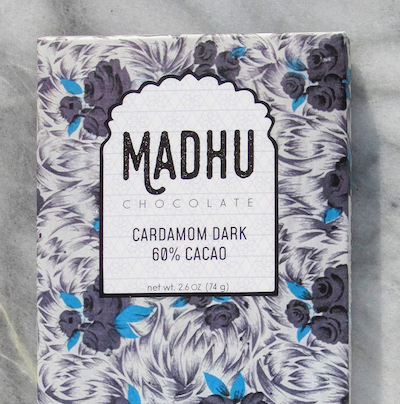 Dark Cardamom Chocolate Bar - Masala My Life