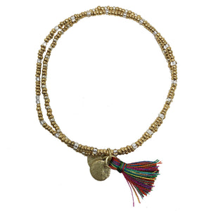 Multicolored Tassel Bracelet - Masala My Life